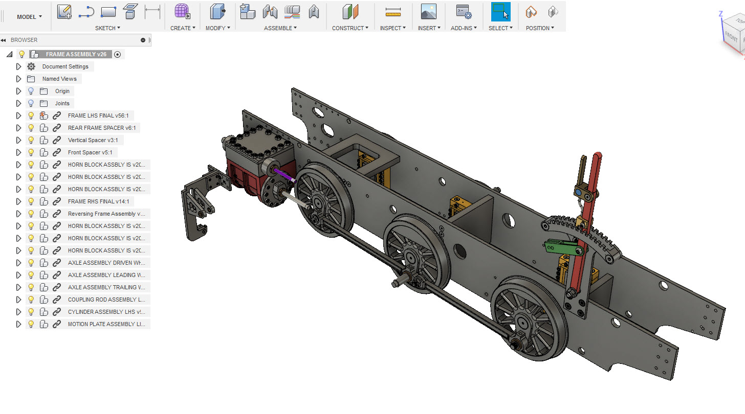 Fusion 360 assembly